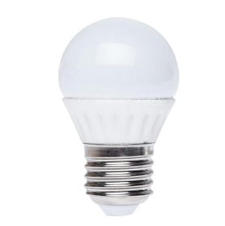 ŹRÓDŁO LED MINI BALL E27 6W KULKA